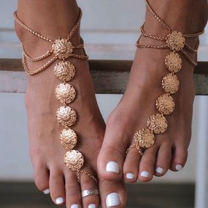 Two Sexy Tassel Charm Anklets